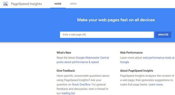 Shoebox website development and site speed