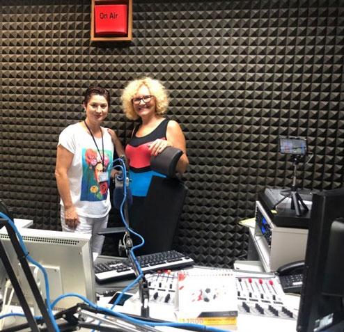 news and press Elena Jnr. Andreou with Saskia Constantinou
