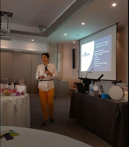 news and press Elena Jnr. Andreou at Yin Alithia Conference