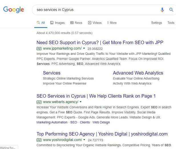 how organic traffic shows in the SERP according to Google ranking factors