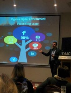 Haris explaining the tree of digital and the importance to know