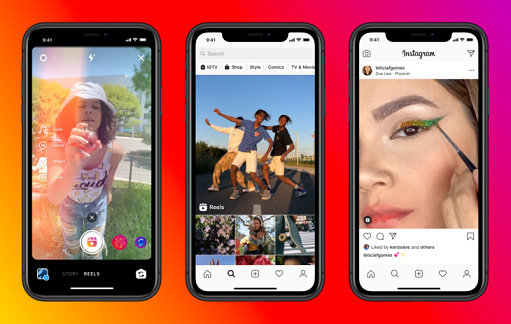 instagram vs tiktok social media